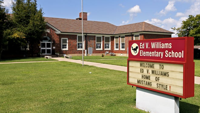 A student was allegedly spotted walking with a gun to Williams Elementary School on Tuesday.