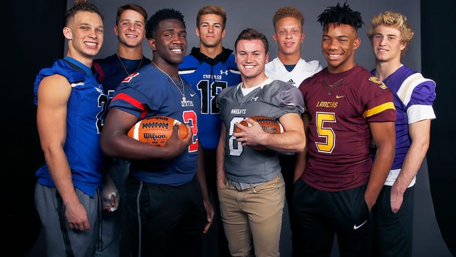 These are the nominees for the azcentral.com Sports Awards High School Football Player of the Year 2017.