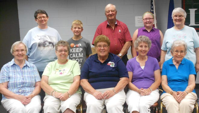 The Top 10 winners in the 55th annual June Dairy Month Recipe Contest on June 29 at Loyal City Hall.