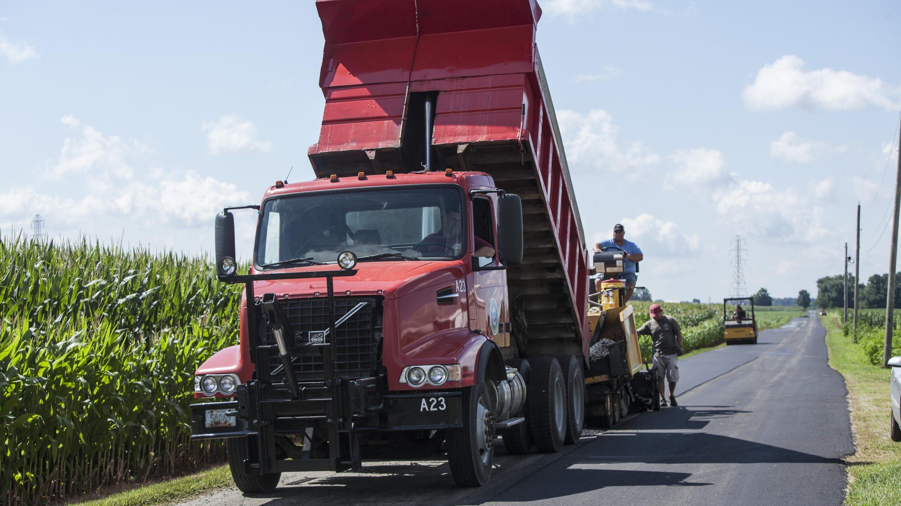 Roads take a beating paving plan set for Paving planner
