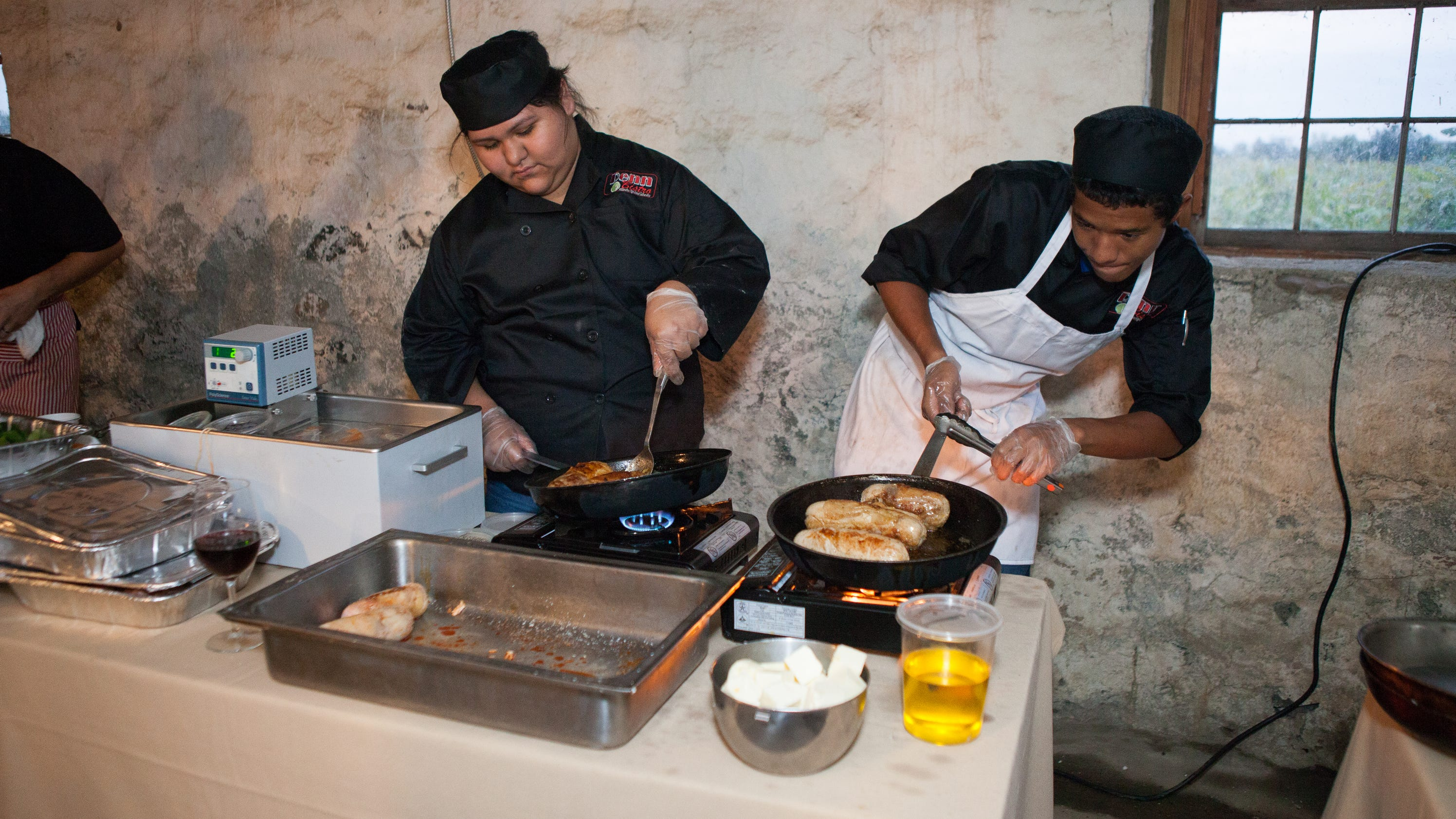 Students cooking for a cause their futures for Cuisine for a cause