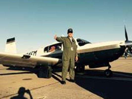 Rep. Steve Pearce plane photo