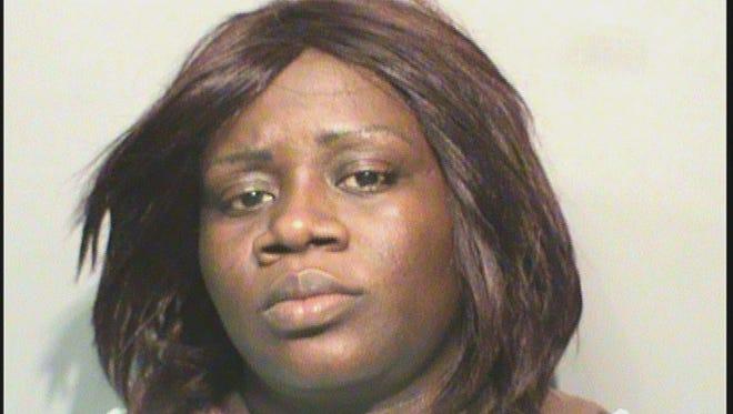 Tawonda Latrice Hambrick, 36, was arrested Saturday.