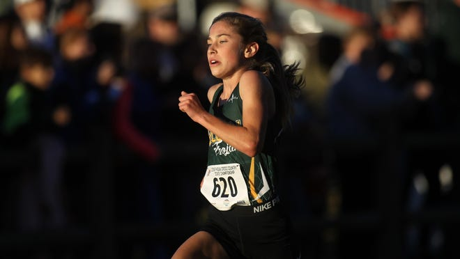 Lincoln freshman Alyson Churchill burst onto the cross-country scene with one of the best seasons Tallahassee has ever seen. She won six races and a Class 3A state title in 17:55, setting the stage for her next three years.