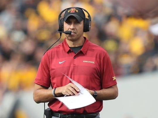 Matt Campbell, Iowa State head coach