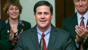 In his first attempt to sell Arizona to the world, Gov. Doug Ducey will travel to Paris and Mexico City later this month to to pitch the state to business leaders.