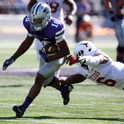 Kansas State Wildcats wide receiver Tyler Lockett (16)
