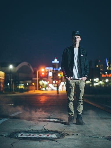 GRiZ bills himself as a DJ and producer. He'll play