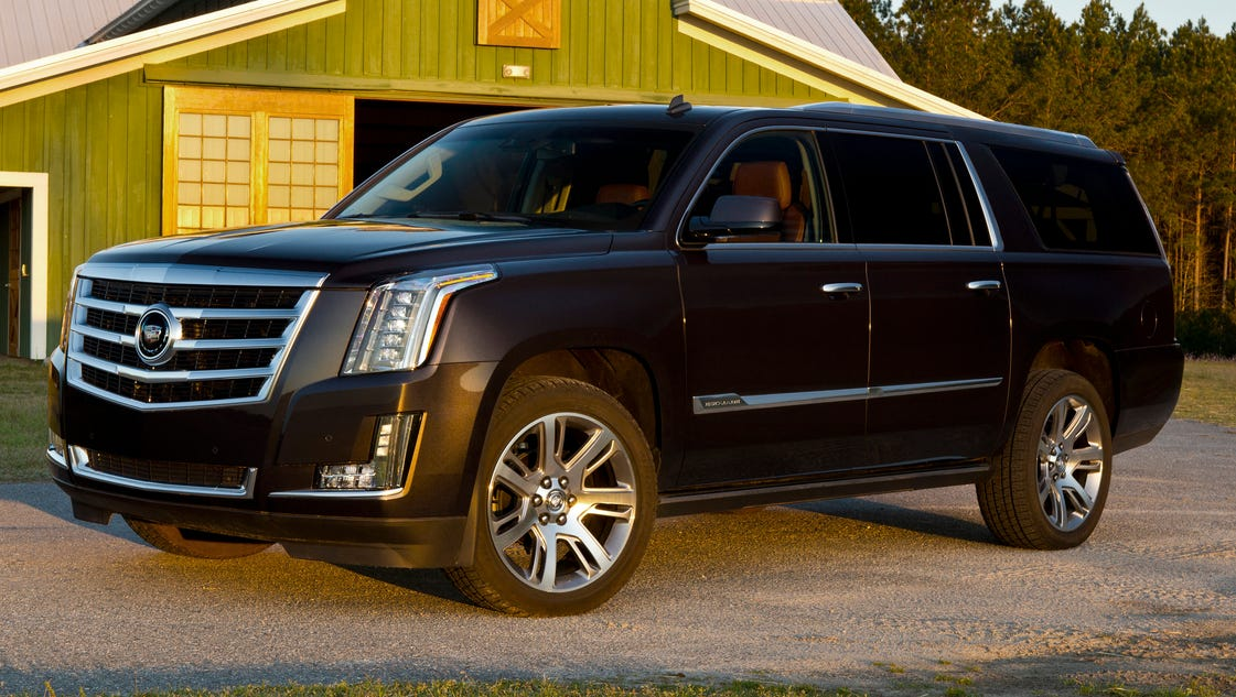 auto review 2015 cadillac escalade esv is brash confident. Cars Review. Best American Auto & Cars Review