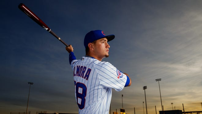 """Albert Almora Jr. looks right at home with the Iowa Cubs to start 2016. Through his first 32 games, he hit .333 with seven doubles, two triples and three home runs. """"(I) feel like I'm in the best shape of my life,"""" he said. """"I'm just healthy. I feel great every day."""""""