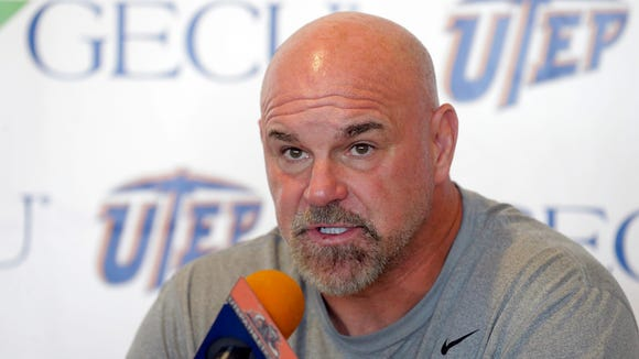 UTEP head coach sean Kugler discuses his teams most recent loss at Southern Miss on Saturday and then quickly spoke about this week's opponent the Rice Owls. The Miners will take  the Owls on Friday night in the Sun Bowl in a nationally televised game with kick-off scheduled for 6 p.m. MST.