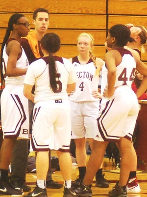 Becton coach Joe Colombo, who was in his first year directing the Lady Wildcats, is looking forward to having the whole off-season to get ready for 2017-18.