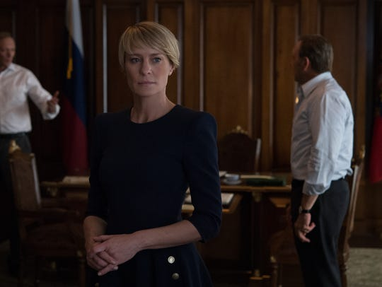 Robin Wright and Kevin Spacey return in  Netflix's