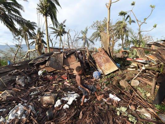 EPA VANUATU CYCLONE PAM AFTERMATH DIS METEOROLOGICAL DISASTER VUT