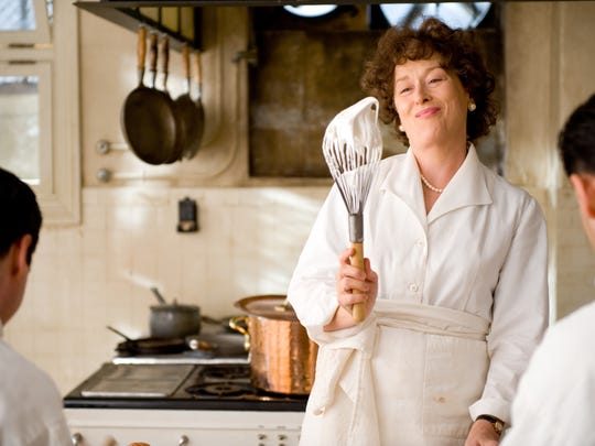 Actress Meryl Streep portrays celebrity chef Julia Child in the Columbia Pictures film 'Julie & Julia.'