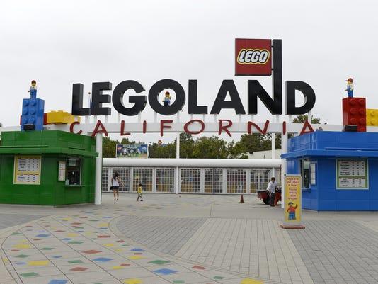 A Scenic Tour of LEGOLAND Califonia Resort