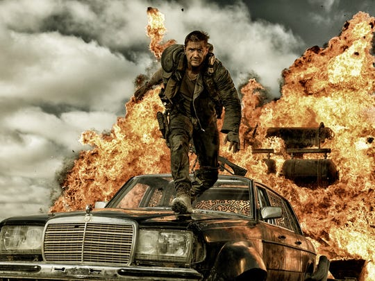 """Tom Hardy and Charlize Theron front box-office hit """"Mad Max: Fury Road."""""""