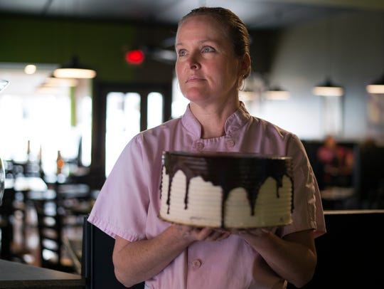 Main Street Grill and Bakery baker Melissa Frost, of