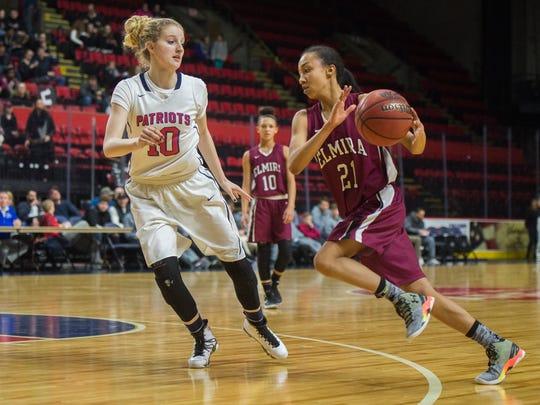 Elmira graduate Zaria Thomas helped St. Thomas Aquinas College advance to the NCAA Division II tournament.