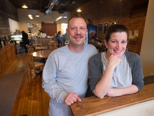 Ike and Julie Lovelass, owners of The Owego Kitchen.