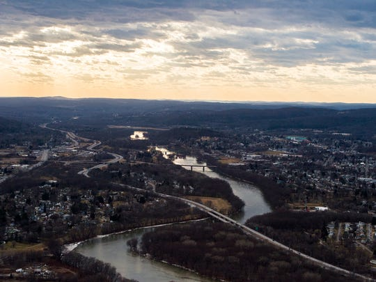 An aerial view of the Southern Tier.