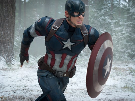 Chris Evans as Captain America/Steve Rogers, in 'Avengers: