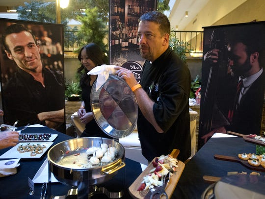 Executive Chef of Ace Gillett's Lounge Troy Heller is competing at this year's The Taste.