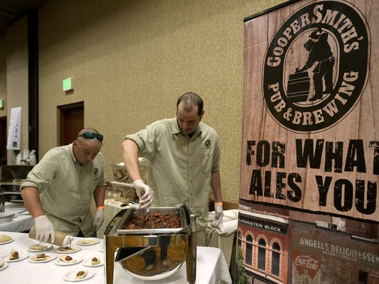 Dave Neas, right, will be competing in this year's The Taste.