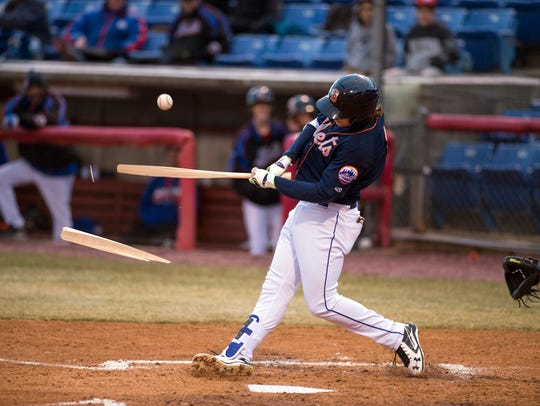Binghamton Rumble Ponies infielder Jeff McNeil has six home runs this season.