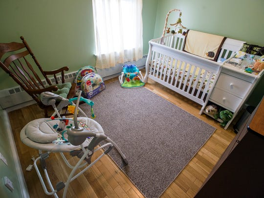A baby's room inside the YWCA in Binghamton that will be part of the new supportive living program for women struggling with addiction and their children.