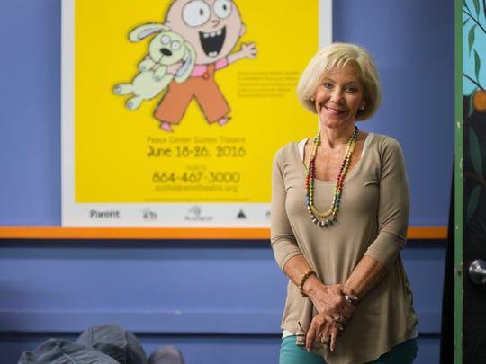 Debbie Bell, executive director of the South Carolina Children's Theatre on Monday, May 9, 2016.