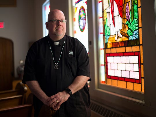Rev. Gary Smith of the Eastside Congregational United Church of Christ in Binghamton.