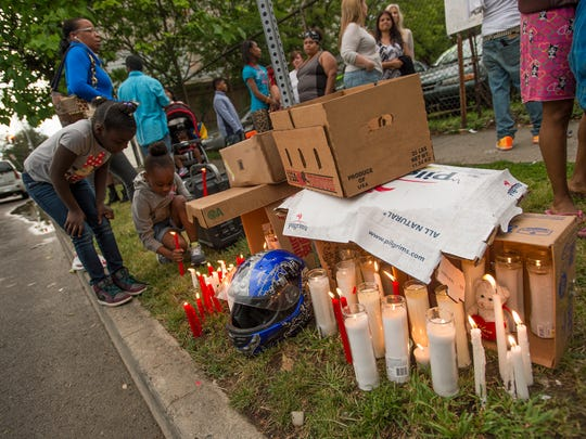 Friends and family gathered Tuesday  in Binghamton for a candlelight vigil in honor of William Nash Jr., who was fatally struck while riding his motorcycle on Sunday.