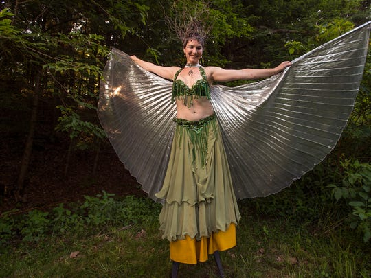 """Emily Quant, of Cortlandt Manor, as her character """"Fairy"""