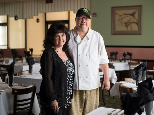 P.S. Restaurant owners Sylvana and Rick Dodd.