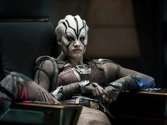 "Sofia Boutella in ""Star Trek Beyond."" The movie opens"