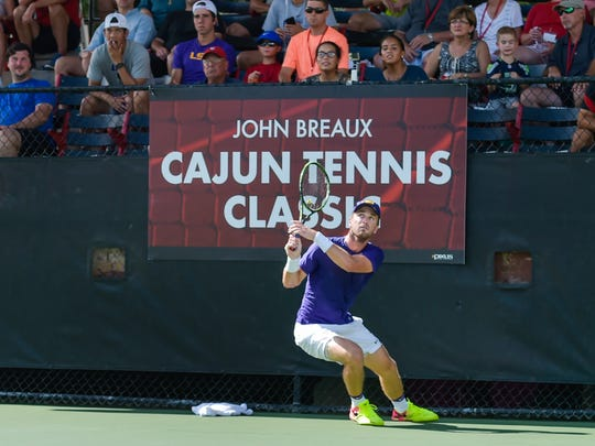 Jordan Daigle of LSU participates in the 2016 Cajun