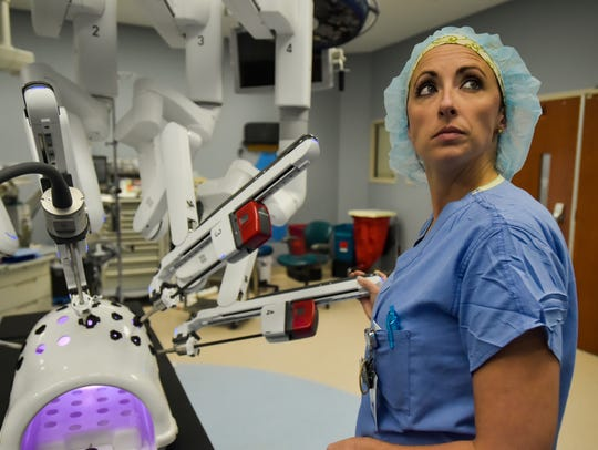 The daVinci Surgical System at Our Lady of Lourdes