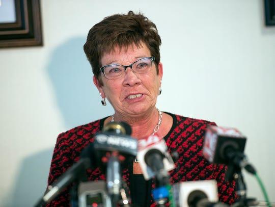 Broome County Executive Debbie Preston announced that