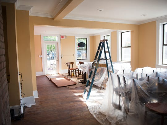 Renovations are underway in what used to be the Greek restaurant Never on Sunday on E Coffee Street in Greenville. Aryana, an Afghan restaurant, will be opening at the location in November.
