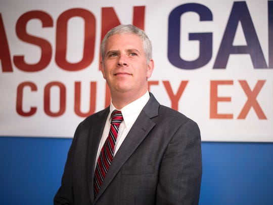 Democratic candidate for Broome County executive Jason Garnar.