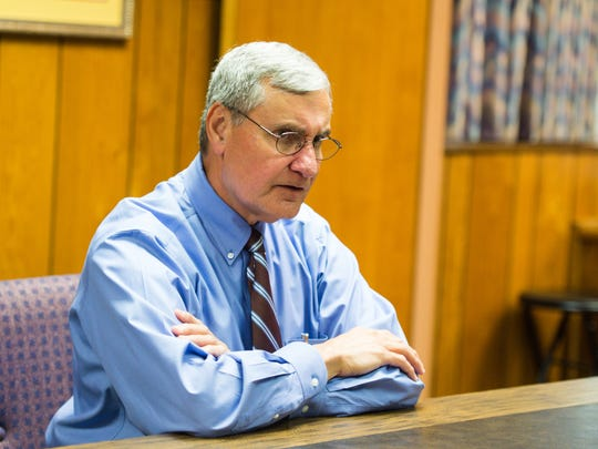 Dr. Donald W. Aguillard, Superintendent of Schools for the Lafayette Parish School System. October 24, 2016.