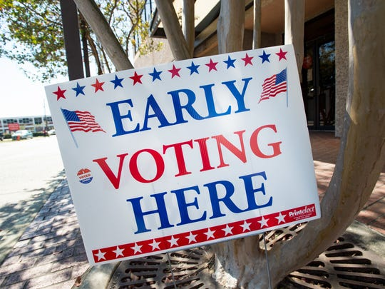 Seven percent of the registered voters in Lafayette Parish voted early for the Nov. 6, 2018, election.