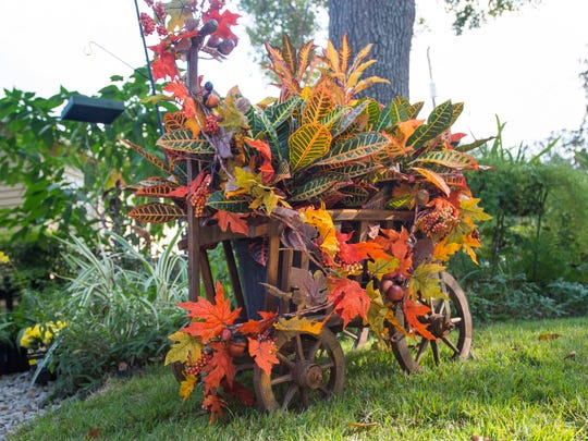 Fall decorating ideas by Robin Thibodeaux. November