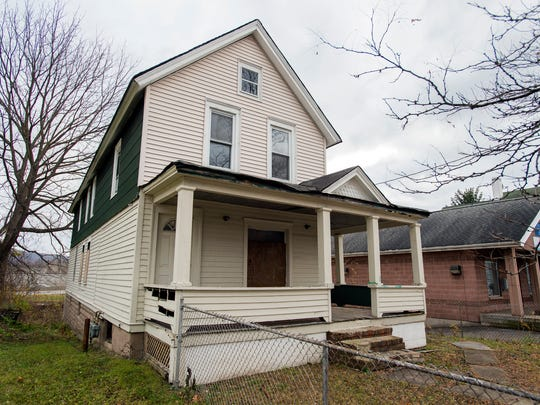 The abandoned property at 110 Liberty St. will be demolished