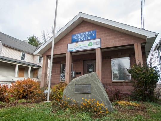 The Lee Barta Community Center in Binghamton on Nov.