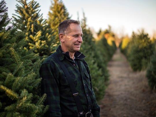 Mike Kodey has owned Sunny Hill Tree Farm in Endwell for 33 years, even as many other local tree farms have closed.