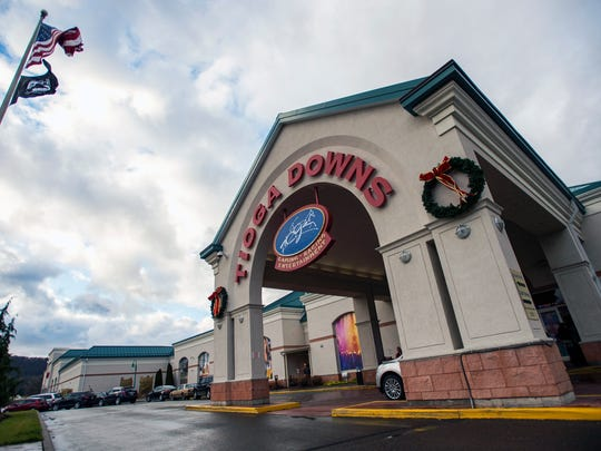 Tioga Downs because a full-fledged casino on Dec. 2.