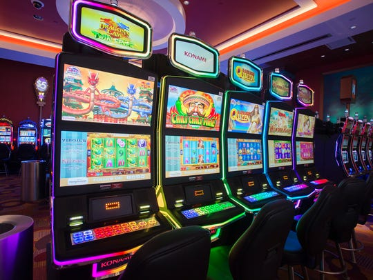 Tioga Downs officially opened its new gambling floor