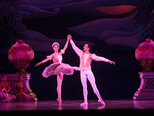 Marize Fumero and Davit Hovhannisyan dance in Milwaukee